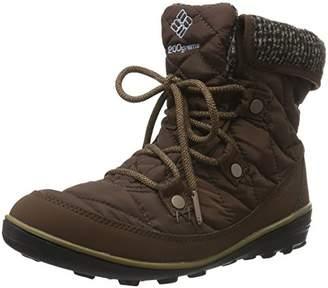 Columbia Women Heavenly Shorty Omni-Heat Knit Ankle Boots, (Tobacco, Dark Mirage 256), 42 EU