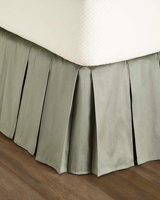Dian Austin Couture Home Queen/King Le Plaza Solid-Color Dust Skirt