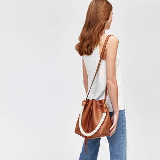Warehouse Rope Strap Bucket Bag