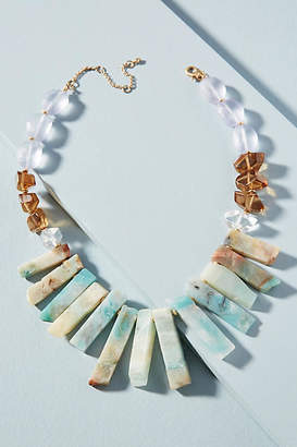 Anthropologie Well Wishing Bib Necklace