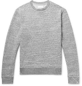 John Elliott Knitted Cotton Sweater - Gray