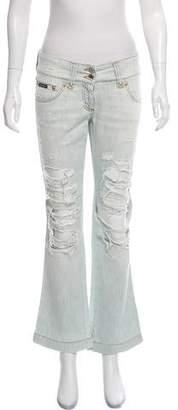 Dolce & Gabbana Low-Rise Straight-Leg Jeans