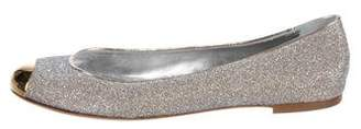 Giuseppe Zanotti Metallic Cap-Toe Flats