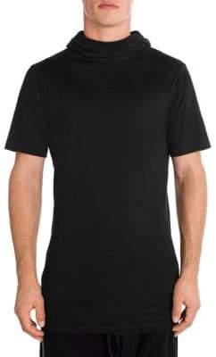 Taverniti So Ben Unravel Project Hooded T-Shirt