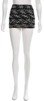 Missoni Mare Chevron Mini Skirt