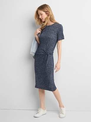 Softspun knit tie dress $59.95 thestylecure.com