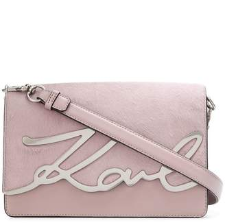 Karl Lagerfeld K/ Signature Luxe shoulder bag