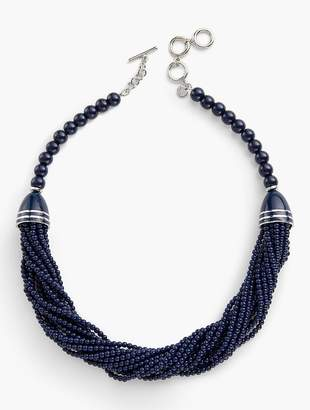 Talbots Multi-Strand Beaded Necklace
