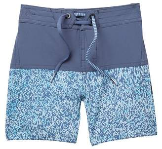 Volcom Vibes Elastic Board Shorts (Toddler & Little Boys)