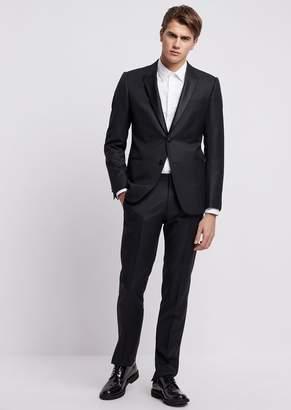 Emporio Armani Tuxedo In Super 130S Pure Virgin Wool