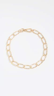 BaubleBar Geo Metal Chain Necklace