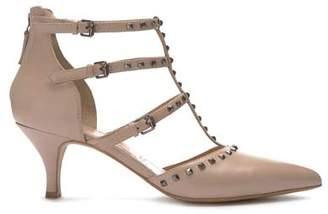 Mint Velvet Louise Blush Studded Heel