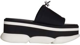 Moncler Monochrome Platform Sandals