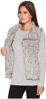 True Grit Dylan by Frosty Tipped Pile Cozy Vest with Knit Lining Women's Vest