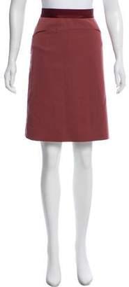 Louis Vuitton Wool Knee-Length Skirt