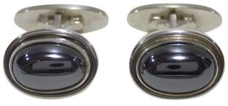 Georg Jensen 925 Sterling Silver With Hematite Cufflinks