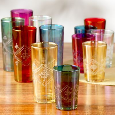 Moroccan Tea Glasses Sets of 6
