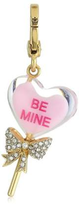 Juicy Couture Spring Delivery 1 Charms Limited Edition Heart Lolli Charm