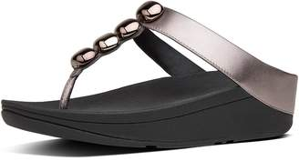 FitFlop Rola Leather Toe-Thongs
