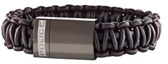Police Men Stainless Steel Charm Bracelet - PJ25687BLC.02-L