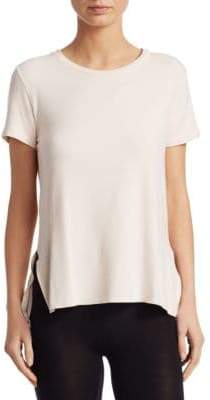 Majestic Filatures French Terry Crewneck Short-Sleeve Tee