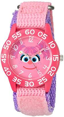 EWatchFactory Girl's 'Sesame Street' Quartz Plastic and Nylon Watch