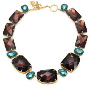 Tory Burch Crystal Stone Statement Necklace