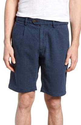 Thomas Laboratories Nifty Genius Regular Fit Pleated Shorts