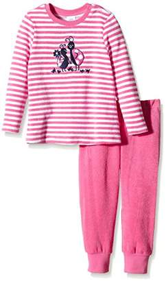 Sanetta Girl's 231740 Pyjama Sets, Rosa (Juicy Pink 3939)