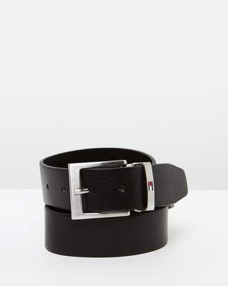 Tommy Hilfiger Grained Leather Belt