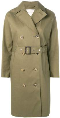 MACKINTOSH Khaki Bonded Cotton Trench Coat LR-022