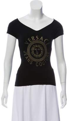 Versace Graphic Logo T-Shirt