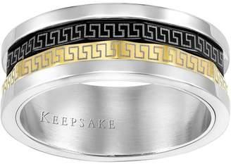 Keepsake Men's Devine Stainless Steel Band