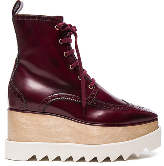 Stella McCartney Elyse Platform Boots $1,240 thestylecure.com