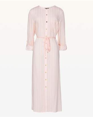 Juicy Couture Cindy Striped Midi Shirtdress