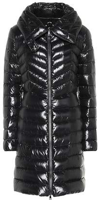 Moncler Faucon lacquered down coat