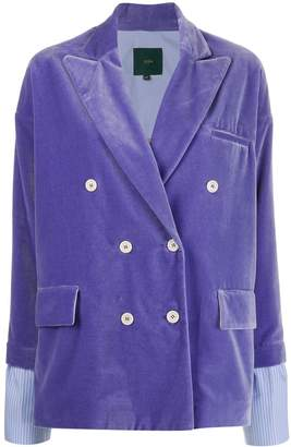 Jejia fitted double-breasted blazer