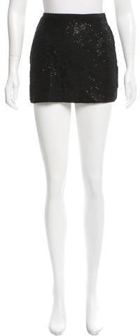 Chan LuuChan Luu Sequin Mini Skirt w/ Tags