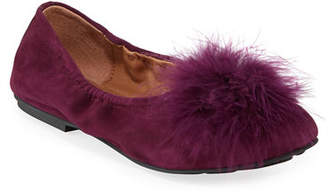 Gentle Souls Portia Feather Ballet Flats