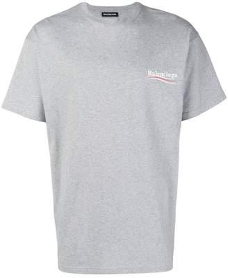 Balenciaga political campaign T-shirt