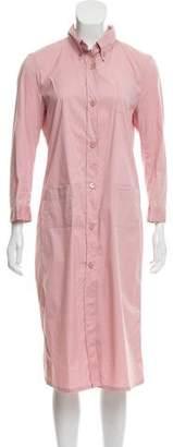 Prada Button-Up Shirt Dress