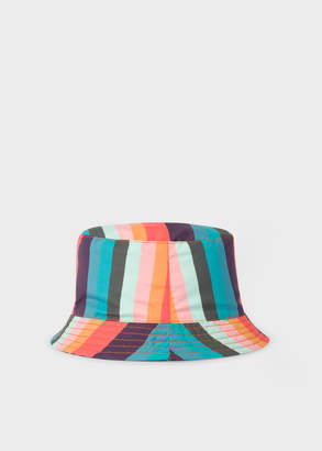 Paul Smith Baby Boys' Reversible 'Artist Stripe' Bucket Hat