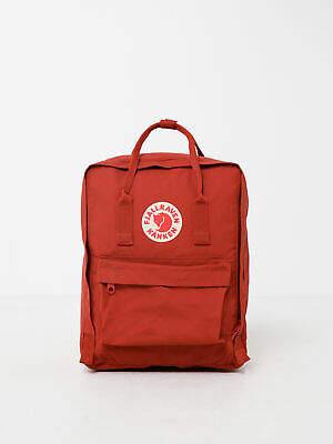 Fjallraven New Unisex Kanken Backpack In Deep Red Bags
