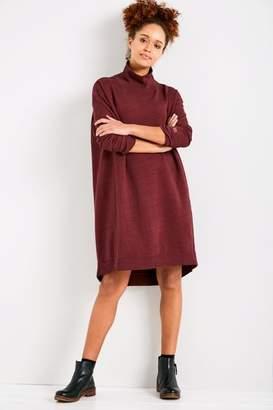 Jack Wills Elswick Funnel Neck Sweat Dress