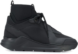 Mr & Mrs Italy chunky hi-top sneakers