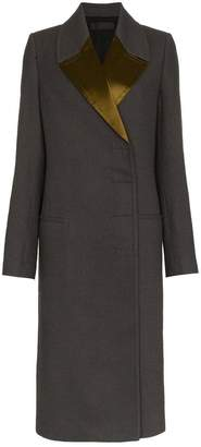 Haider Ackermann Double-Breasted Long Coat