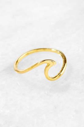 Pura Vida Gold Wave Ring