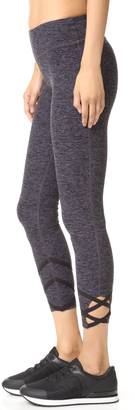 Beyond Yoga Spacedye Strappy Ballet Leggings $99 thestylecure.com