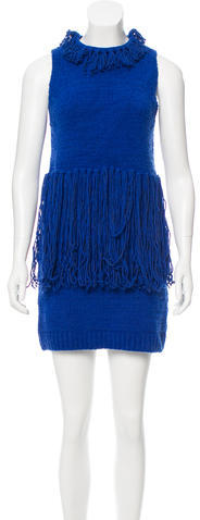 3.1 Phillip Lim 3.1 Phillip Lim Fringe Knit Dress