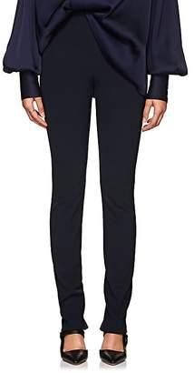 The Row Women's Losso Plain-Weave Skinny Pants